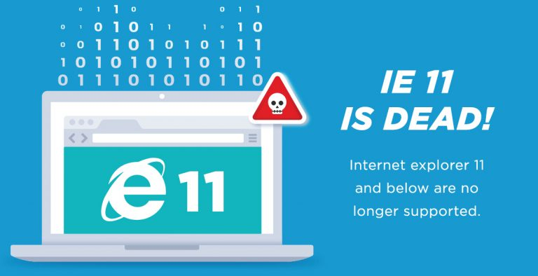 Dropping IE11 Support
